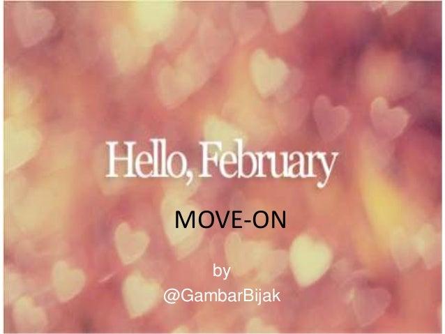 MOVE-ON    by@GambarBijak