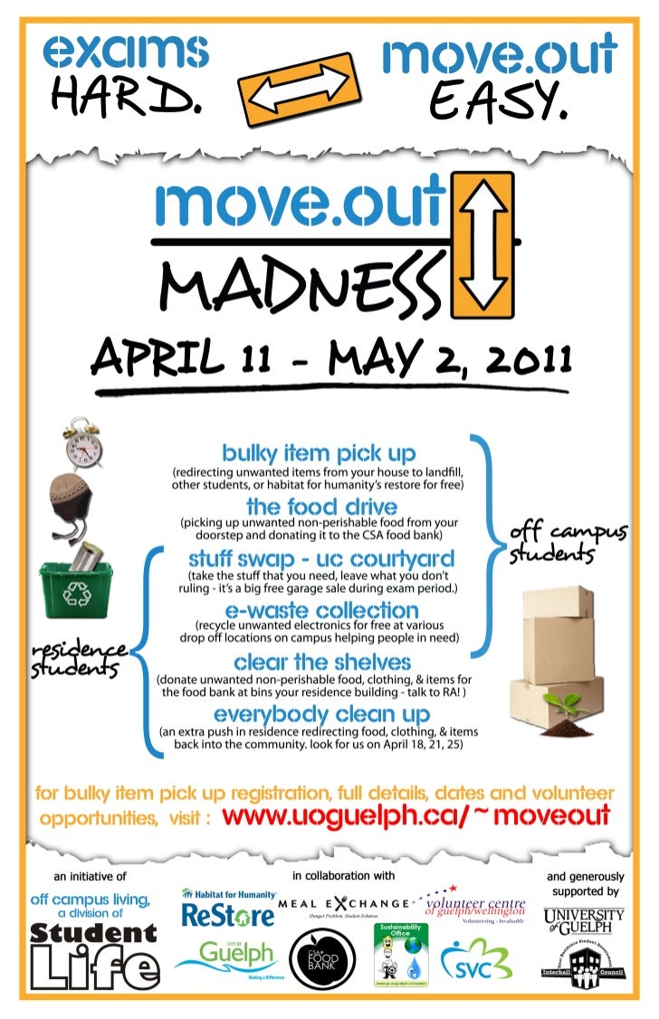 Move Out Madness Poster