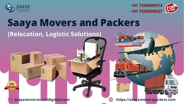 +91 7359595914 +91 7359595927 https://saayamoverspackers.comsaayamoverssocial@gmail.com Saaya Movers and Packers (Relocati...