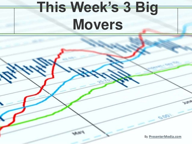 This Week's 3 Big Movers By PresenterMedia.com