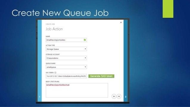 Create New Queue Job