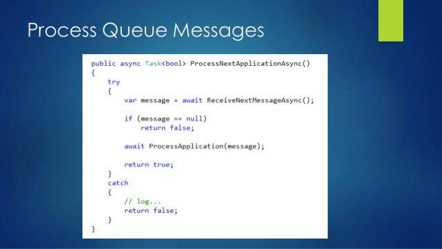 Process Queue Messages