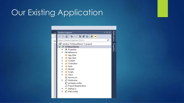 Our Existing Application