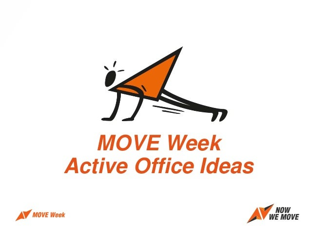 MOVE Week Active Office Ideas
