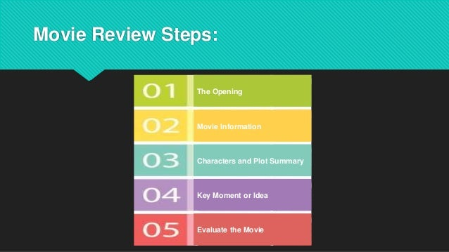 movie review format for students