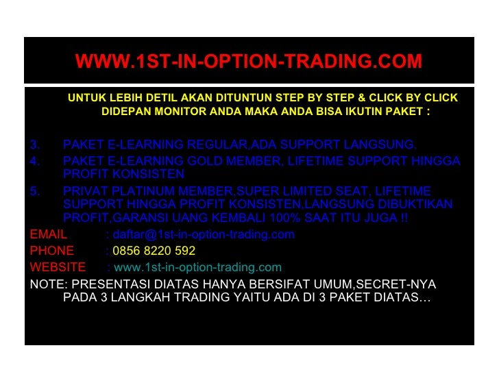 Options trading documentary