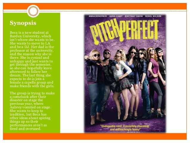 Movie analysis pitch perfect