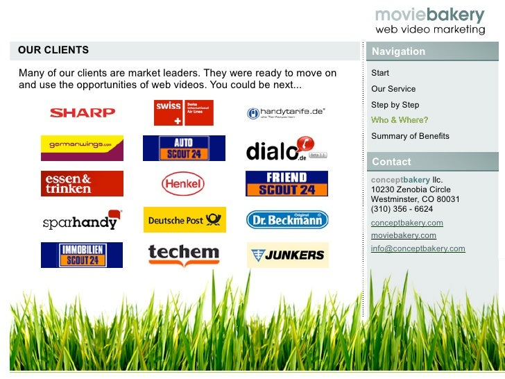 OUR CLIENTS                                                          Navigation  Many of our clients are market leaders. T...