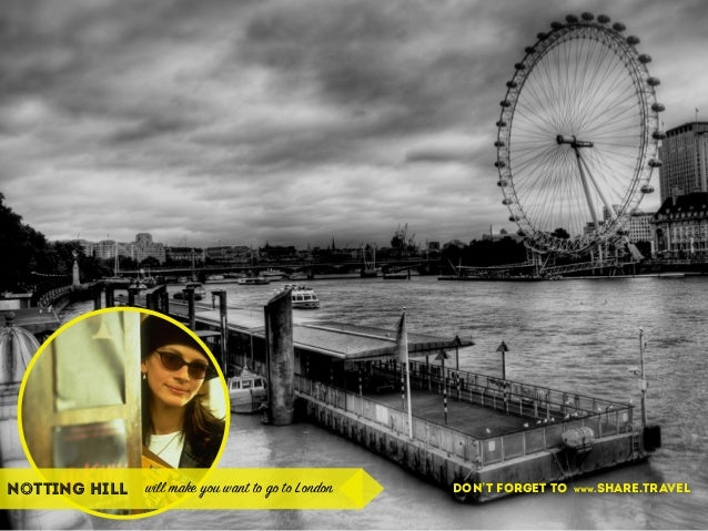 notting hill will make you want to go to London don't forget to www.share.travel