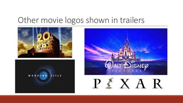 Movie Logos and Animations