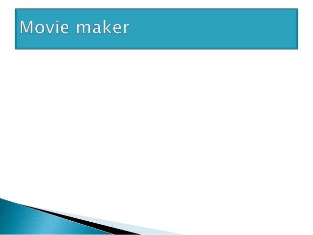  Сэдэв:Movie maker програм,түүний цэснүүд  Movie maker програм нь жижиг хэмжээний видео бэлтгэх авсаархан програм юм.Энэ...