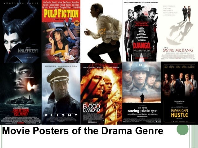 Drama Movie Poster Conventions