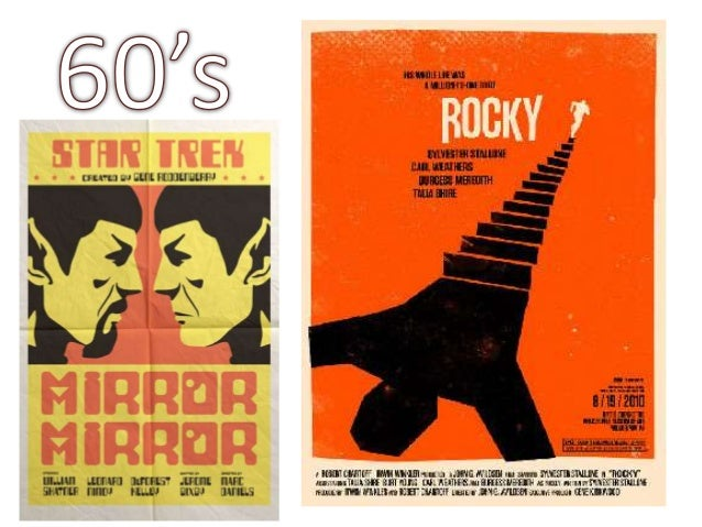 Movie Posters Through Time Slide 3