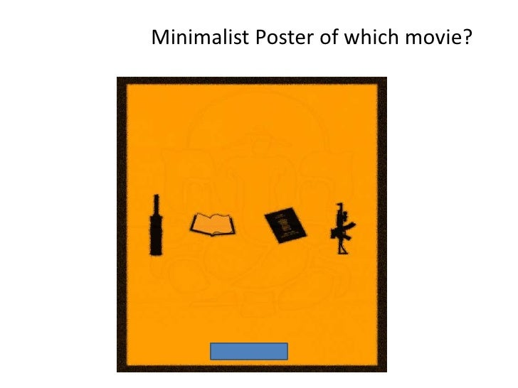 Minimalist Classroom Quiz ~ Movie quiz