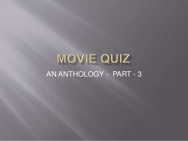 Movie quiz - part - 3