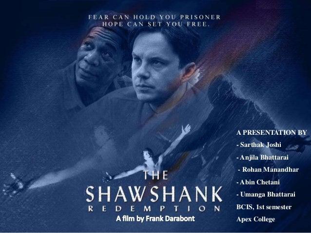 Essay/Term paper: The shawshank redemption