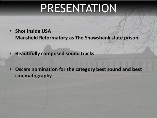 an analysis of the movie the shawshank redemption Shawshank redemption essays in the movie the shawshank redemption, the movie shows how prison life affects prisoners when they.