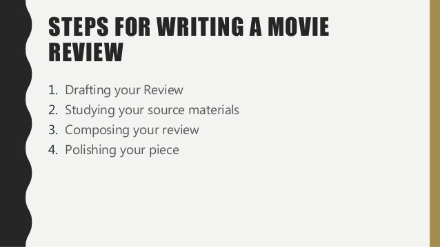 Academic movie review