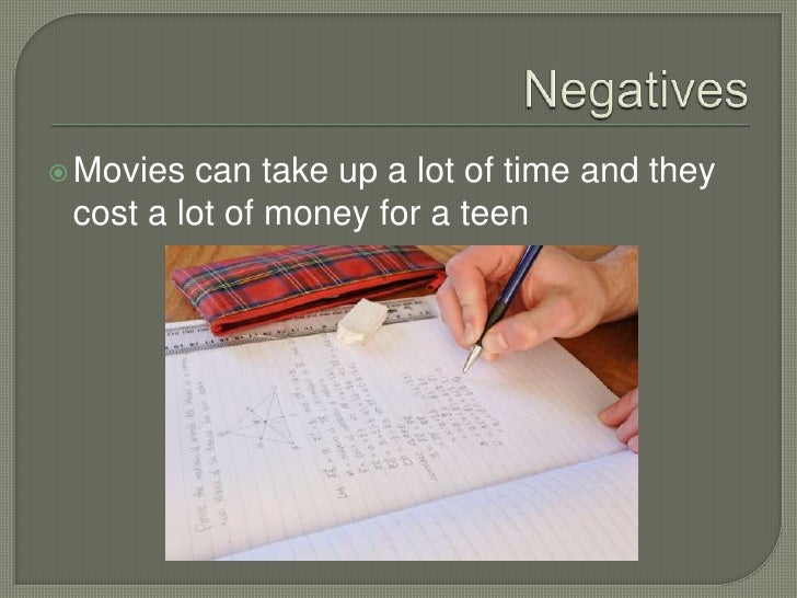 The effect of movies on teens
