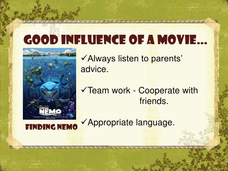 influence of movies in our life