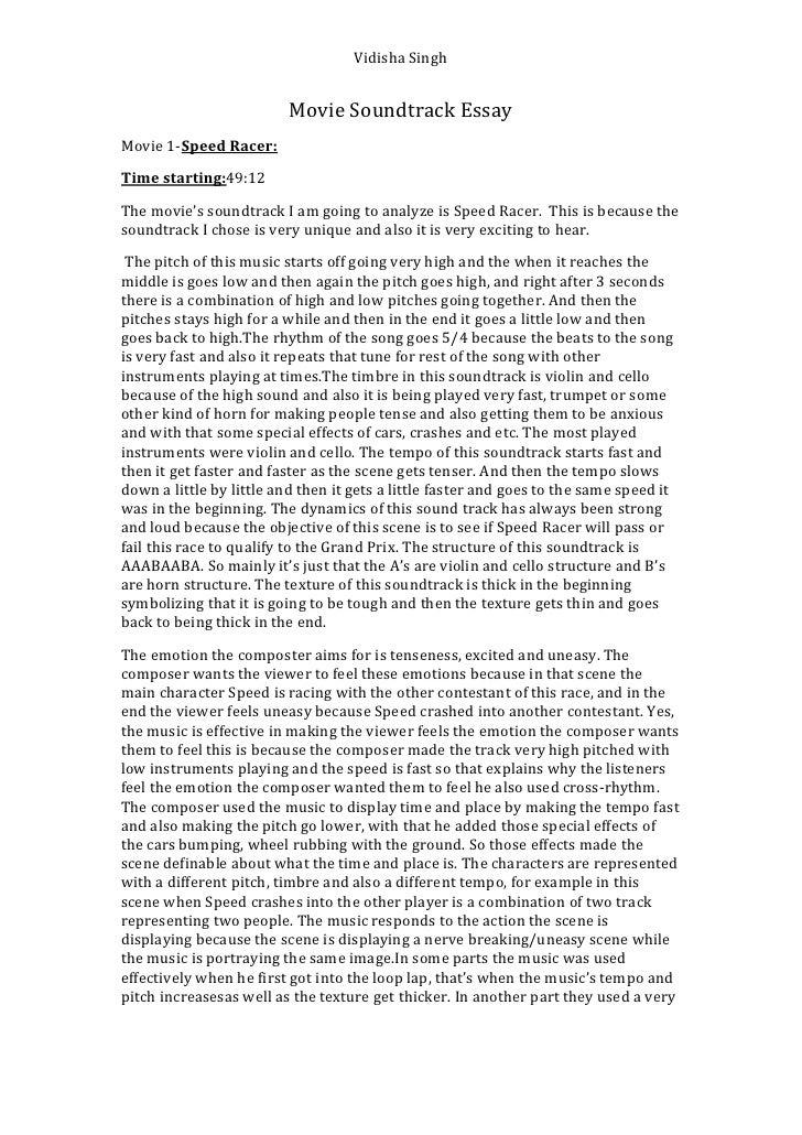 classification essay movie endings