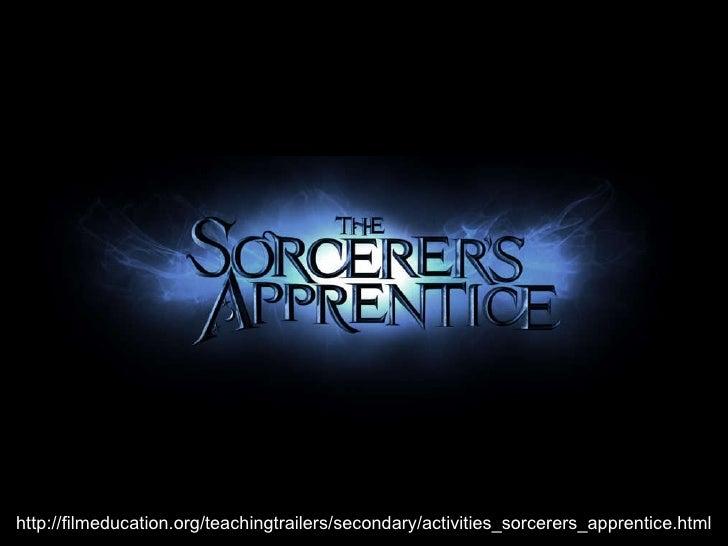 http://filmeducation.org/teachingtrailers/secondary/activities_sorcerers_apprentice.html