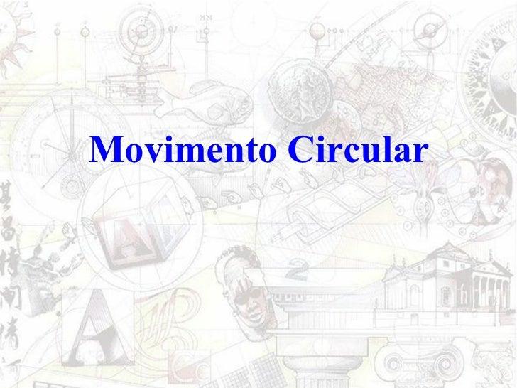 Movimento Circular
