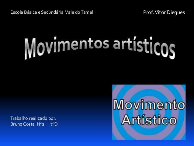 Escola Básica e Secundária Vale do Tamel  Trabalho realizado por: Bruno Costa Nº2 7ºD  Prof. Vítor Diegues