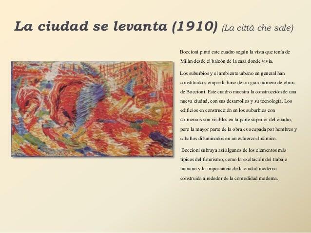 Movimiento Artistico Futurismo Umberto Boccioni