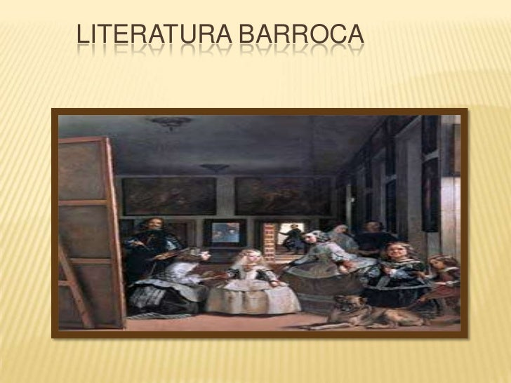 Literatura Barroca<br />