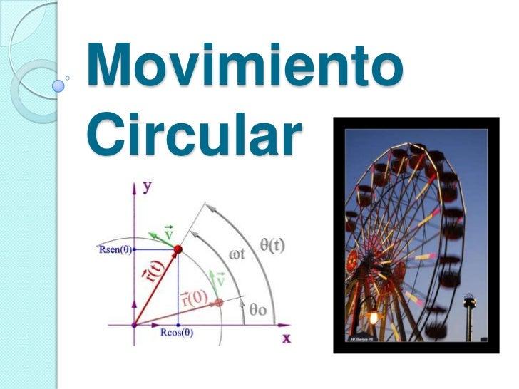 MovimientoCircular