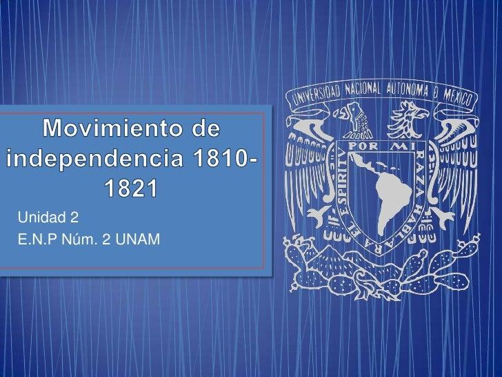 Unidad 2E.N.P Núm. 2 UNAM