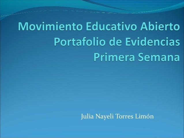 Julia Nayeli Torres Limón
