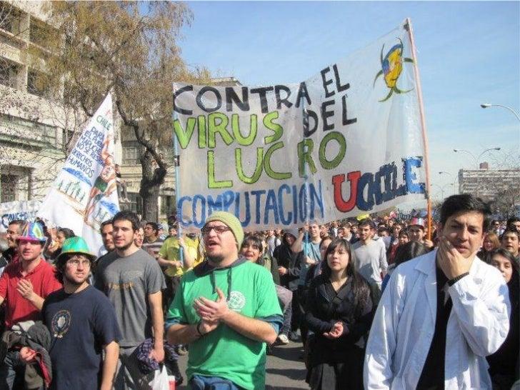 El movimiento estudiantil en Chile recupera su fuerza