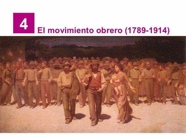 4 El movimiento obrero (1789-1914)