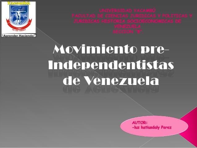 """UNIVERSIDAD YACAMB FACULTAD DE CIENCIAS JURIDICAS Y POLITICAS SECCION """""""