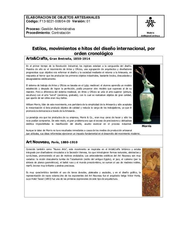 ELABORACION DE OBJETOS ARTESANALES Código: F13-9221-008/04-09 Versión: 01 Proceso: Gestión Administrativa Procedimiento: C...