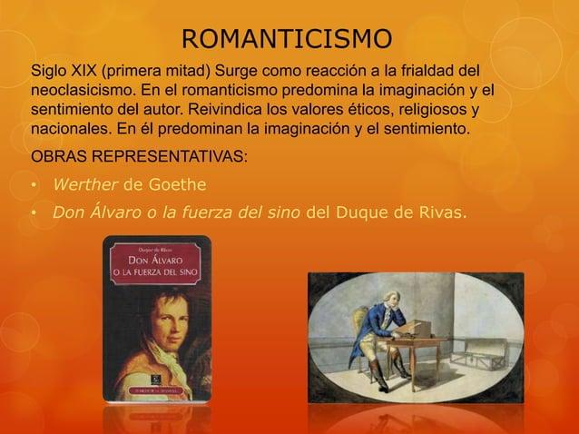 ROMANTICISMO Siglo XIX (primera mitad) Surge como reacción a la frialdad del neoclasicismo. En el romanticismo predomina l...