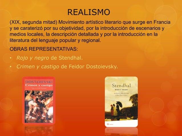 REALISMO (XIX, segunda mitad) Movimiento artístico literario que surge en Francia y se caraterizó por su objetividad, por ...