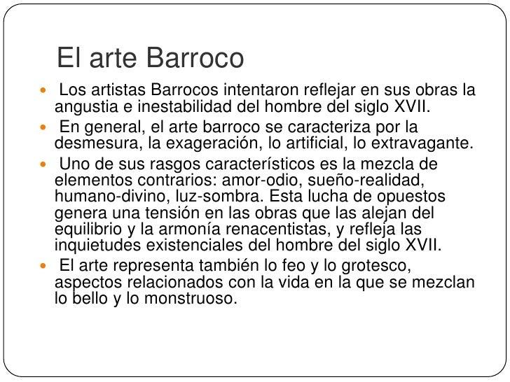 """Recursos Retóricos del Barroco Hipérbaton: Es la alteración del orden sintáctico habitual de la frase.Por ejemplo:""""Pasos ..."""