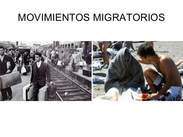 MOVIMIENTOS MIGRATORIOS