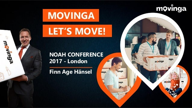 MOVINGA LET'S MOVE! NOAH CONFERENCE 2017 - London Finn Age Hänsel