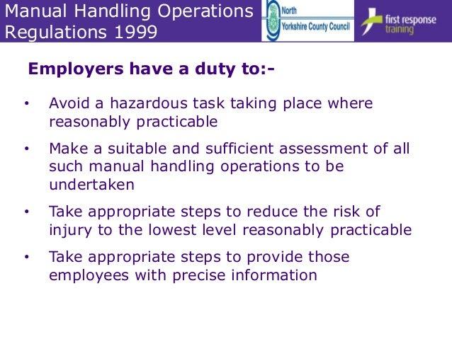 moving and handling of people 6hr v4 0 1 rh slideshare net Manual Handling Ergonomics Posters Manual Handling Training Presentation