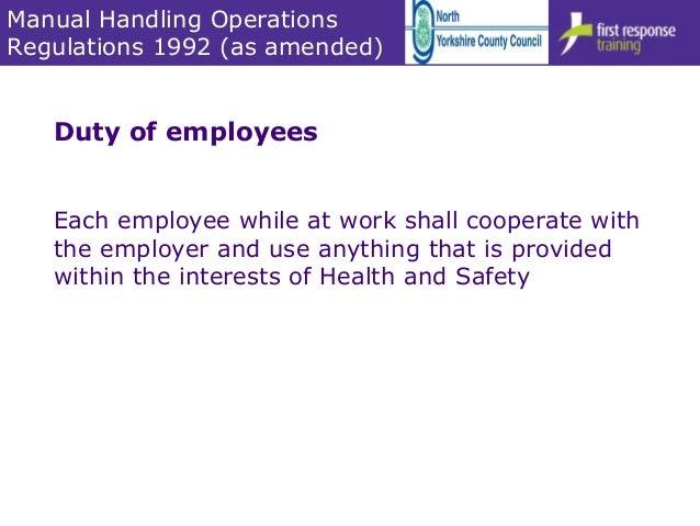 moving and handling of people 6hr v4 0 1 rh slideshare net Manual Handling Correct Methods OSHA Manual Handling