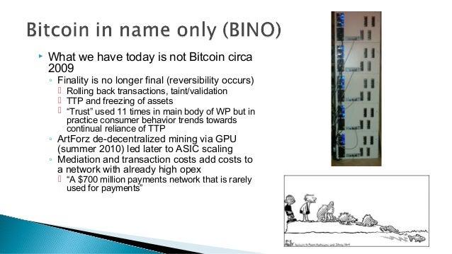 Moving Beyond BINO Beta Slide 3