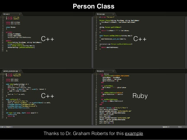 Moving From C To Ruby