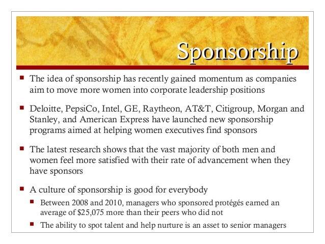 Moving from mentorship to sponsorship for Fishing sponsorship application