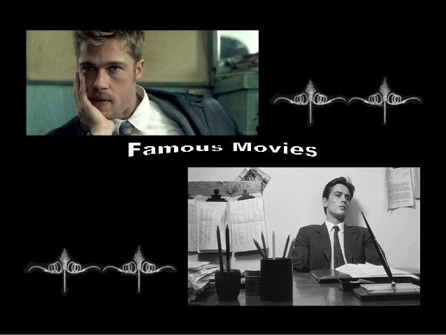 Moving images of famous movies  (catherine)