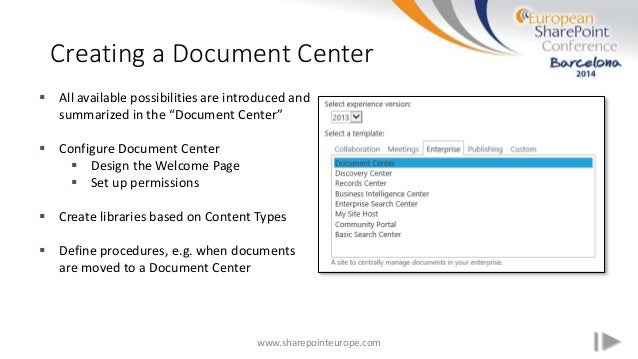 Moving mountains with Sharepoint - Document Management with SharePoin…