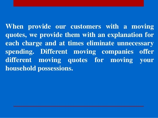 Moving Company Quotes Magnificent Moving Quotes Honest Movers & Affordable Moving Company You Can Trus…